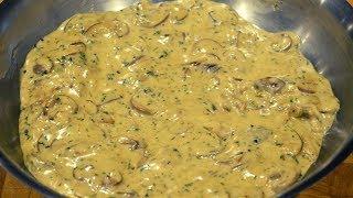 Creamy Garlic Mushroom Sauce  How To Make Recipe