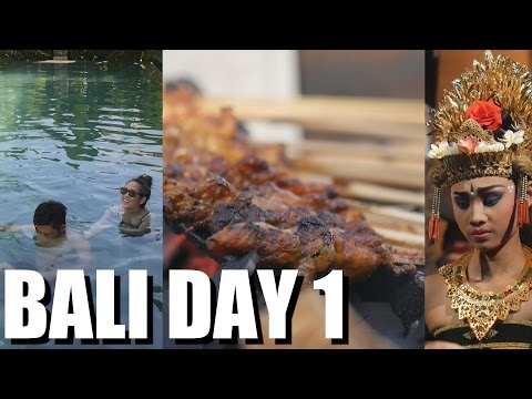BALI INDONESIA TRAVEL: Street Food, Learning how to Swim & Fire Dance in UBUD