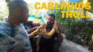 ENTREVISTA COM CARLINHOS TROLL   PEGOU NA MINHA COBRA!   RICHARD RASMUSSEN