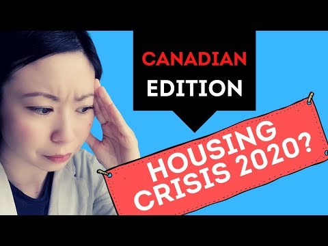 Canada Housing Market Crash & Opportunity In 2020? Real Estate Investing For Beginners