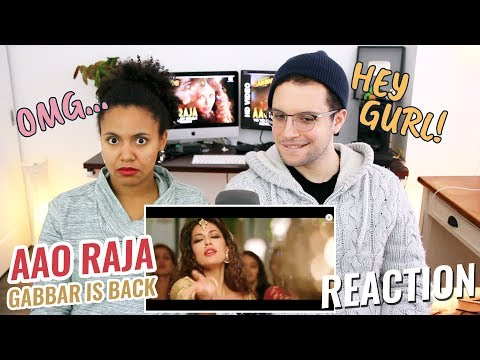 Aao Raja - Gabbar Is Back | REACTION