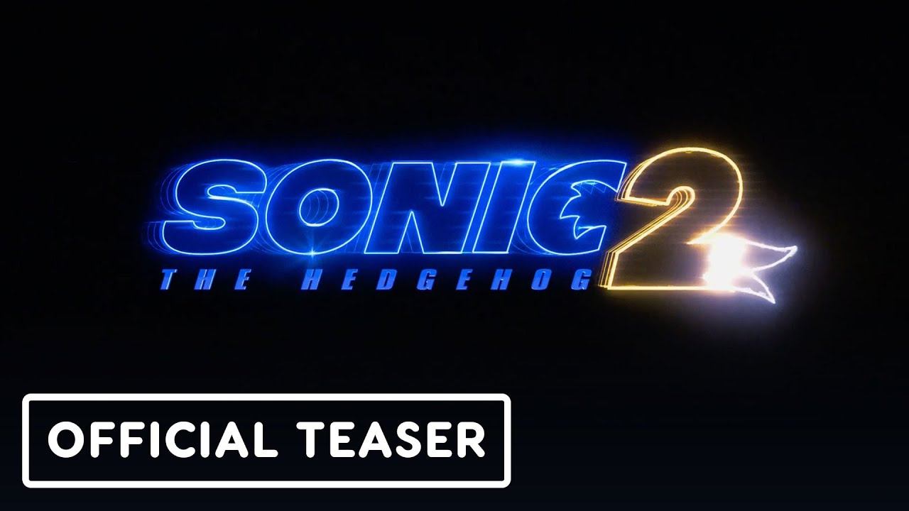 Sonic the Hedgehog 2 - Official Movie Announcement Teaser