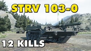 World of Tanks | Strv 103-0 - 12 Kills - 9.9K Damage