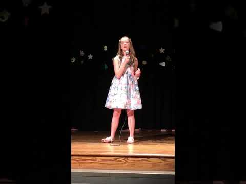 Twin Lakes Academy Middle School • Talent Show • 4/12/2019 • Caitlyn