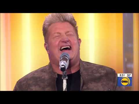 "Rascal Flatts sings ""Back To Life"" Live in Concert GMA 2019 HD 1080p"