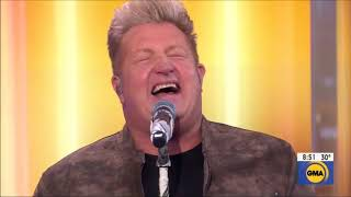 """Rascal Flatts sings """"Back To Life"""" Live in Concert GMA 2019 HD 1080p"""