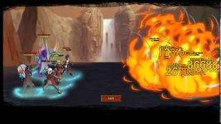 ultimate naruto game epic battle 7 tails vs 9 tails