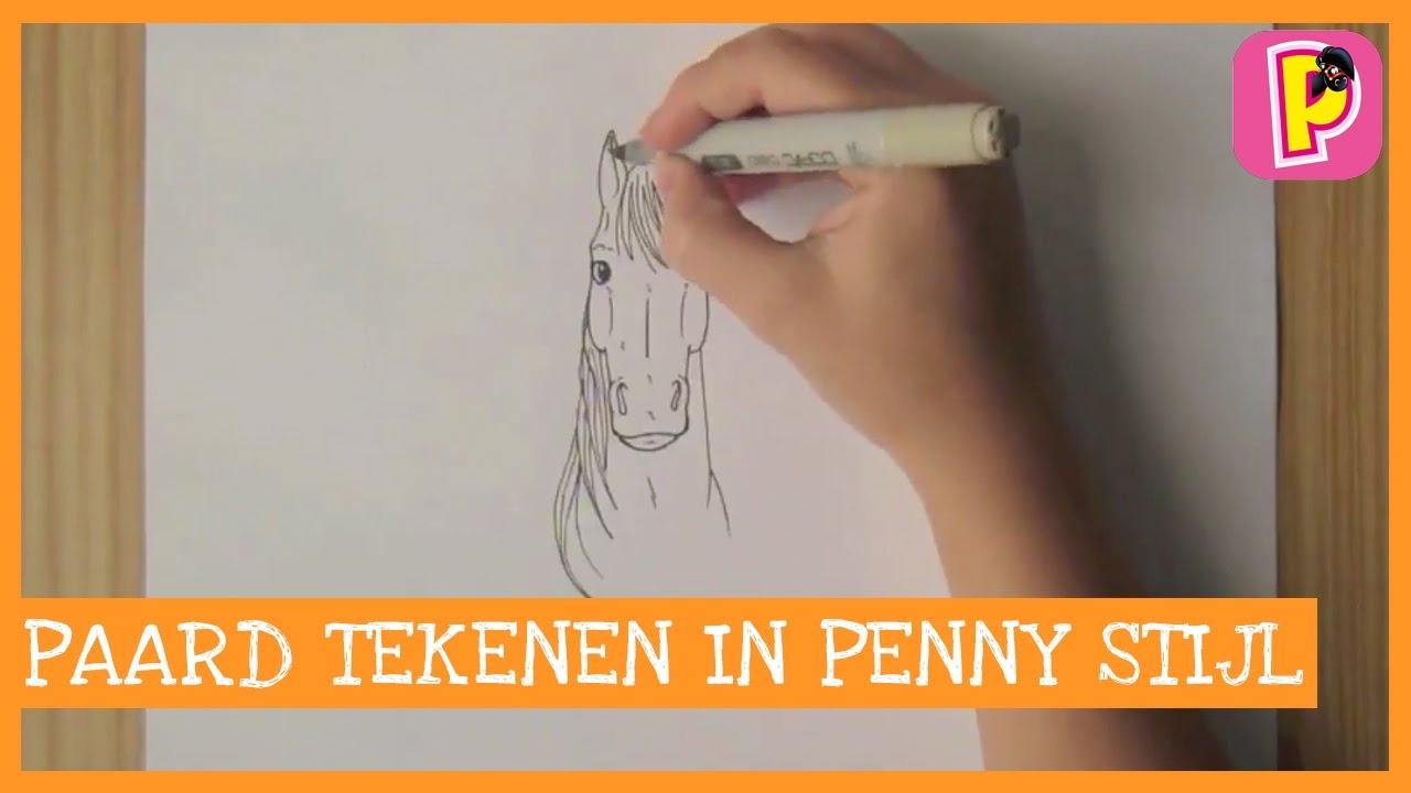 Wonderbaar DIY | Hoe teken ik een paard in Penny stijl deel 1| Penny TV - YouTube IA-15
