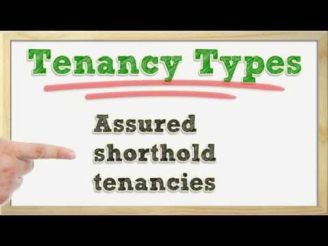 Types Of Tenancy Agreement.