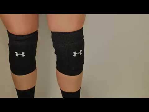 c45f75c727bb Under Armour Volleyball Knee Pads - YouTube