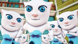 CLONE ANGELA - HELLO NEIGHBOR Talking Tom Cat Mod MOD