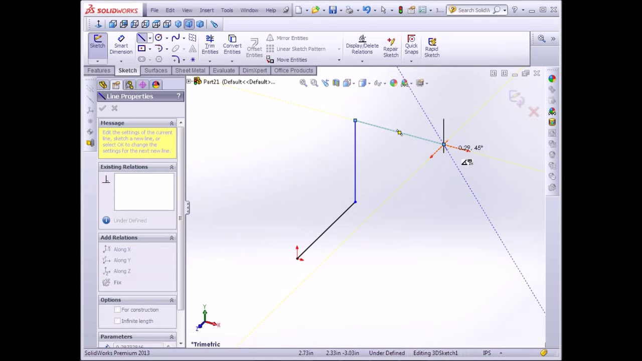 Solidworks Tutorial 3d Pipe  Cad Cam Tutorial 04:23 HD
