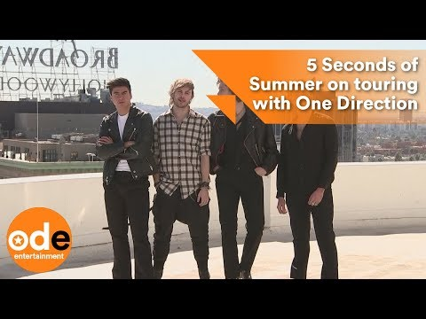 5 Seconds of Summer on touring with One Direction