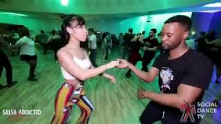 Lionel Massou & Brenda Liew - Social Dancing | Salsa Addicted Festival 2019