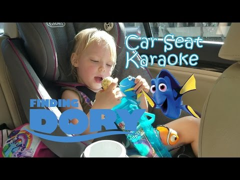 Car Seat Karaoke 🐠 Finding Dory 🎵 Just Keep Swimming 🎵