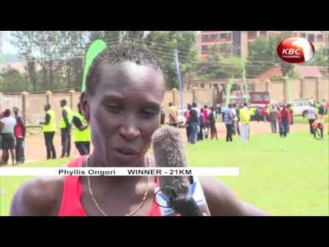Phillis Ongori and Joseph Koech win 2017 Safaricom Kisii half Marathon