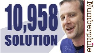 A 10,958 Solution - Numberphile