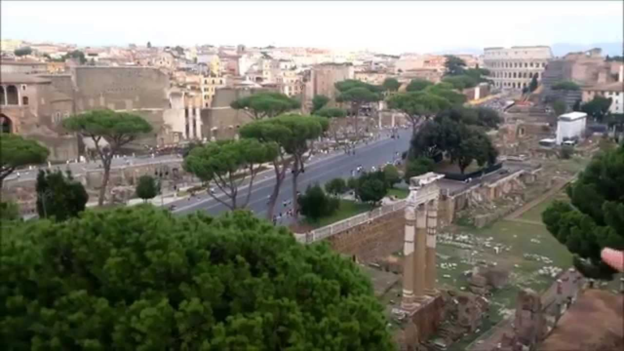 Roma Vittoriano Terrazza delle Quadrighe Altare della