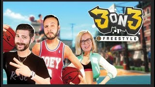 vuclip Donks and Dunks - 3on3 Freestyle Gameplay Part 2