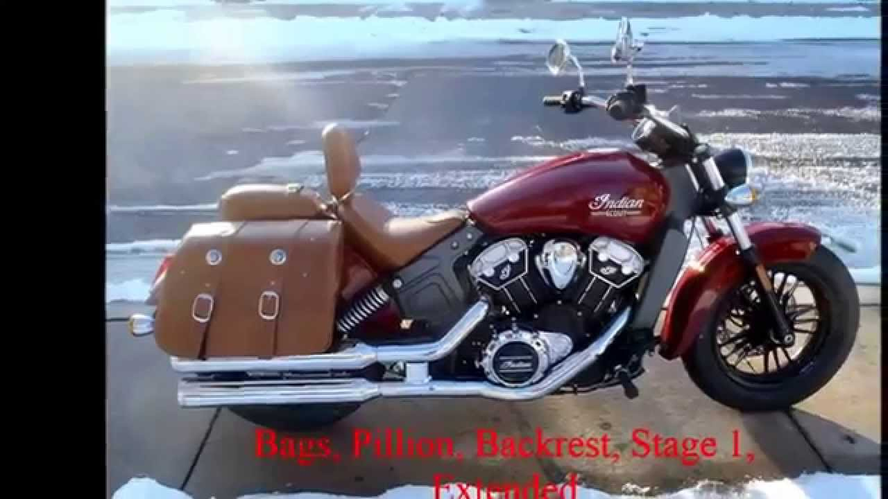 2015 Indian Scout Accessories Part 1 Youtube