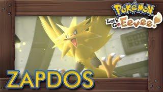 Pokémon Let's Go Pikachu & Eevee - How to Get Zapdos