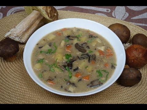 Zupa Grzybowa Z Ziemniakami Kartoflanka Z Grzybami