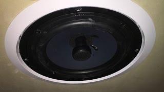 str 82c in ceiling 2 way 8 speaker installation