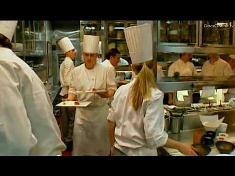 Famous chef Charlie Trotter and his restaurant