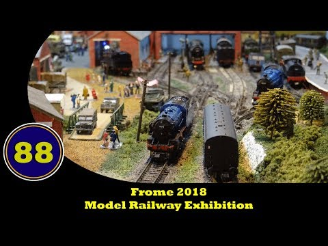 Frome Model Railway Exhibition 2018  - 6th January 2018