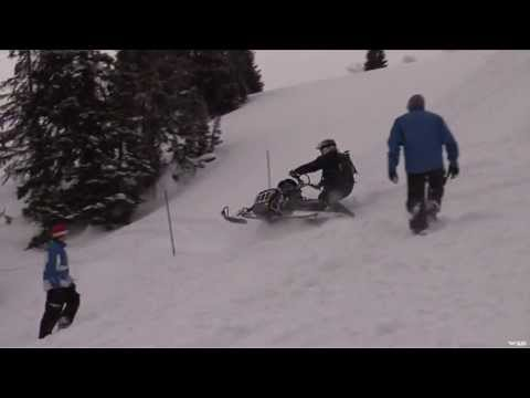 Snowmobile Training Course in Wyoming