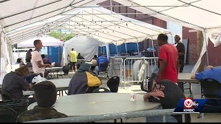 Organization trying to help homeless with COVID-19, hot weather