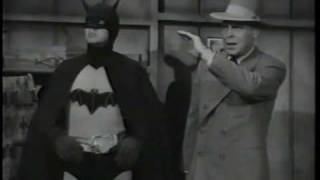 superman meets batman B&W