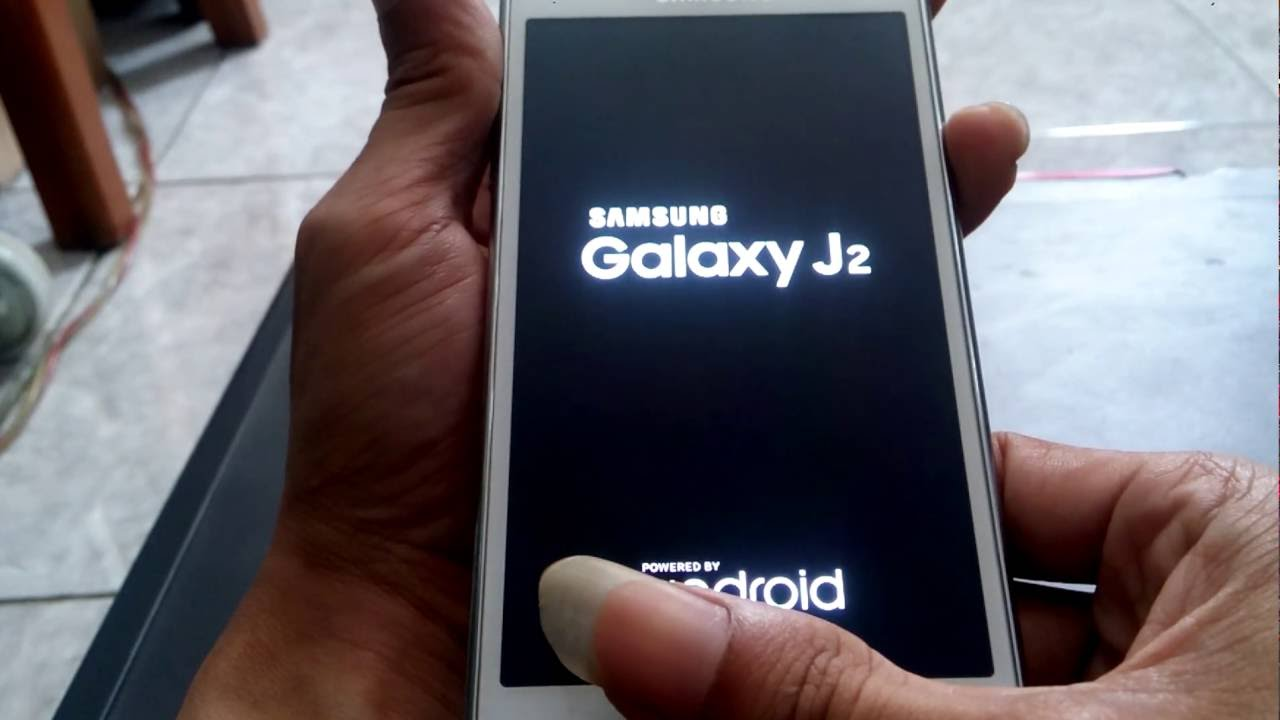 Hard Reset Samsung Galaxy J2 Youtube