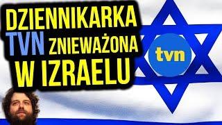 Dziennikarka TVN Znieważona w Izraelu na Lotnisku - Polski MSZ Milczy - Komentator