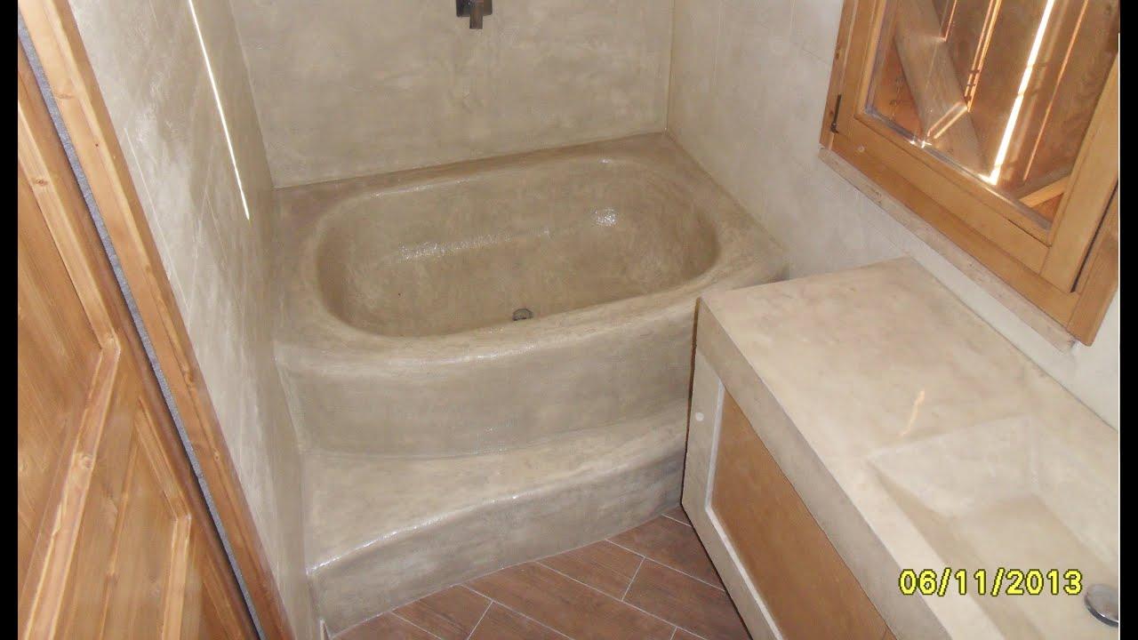 How it 39 s made carved bathtub progettare e costruire bagno - Costruire un bagno ...