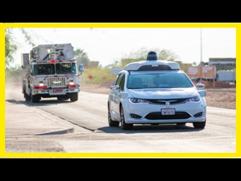 Alphabet is training law enforcement on how to handle self-driving car crashes