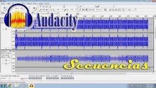 Como usar secuencias y MultiTracks con Audacity