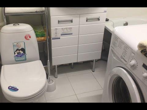 Ремонт ванны совмещенной с туалетом своими руками
