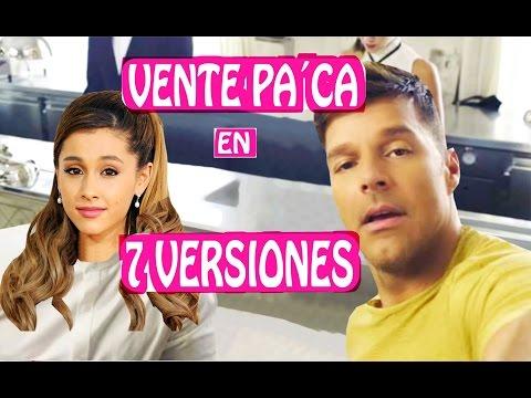 Ricky Martin - Vente Pa † Ca en 7 Estilos Musicales 7 NUEVAS VERSIONES de Maluma y Ricky Martin