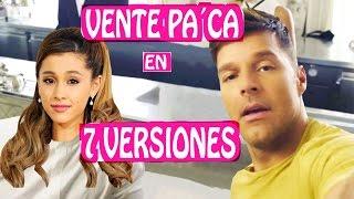 Ricky Martin - Vente Pa' Ca en 7 Estilos Musicales 🎤 7 NUEVAS VERSIONES de Maluma y Ricky Martin thumbnail