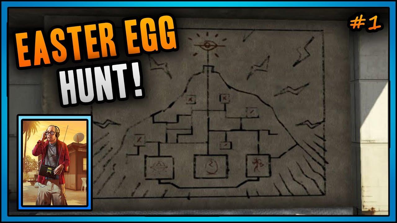 GTA 5 Online - Naked Girl Easter Egg! Sexy Topless Girl
