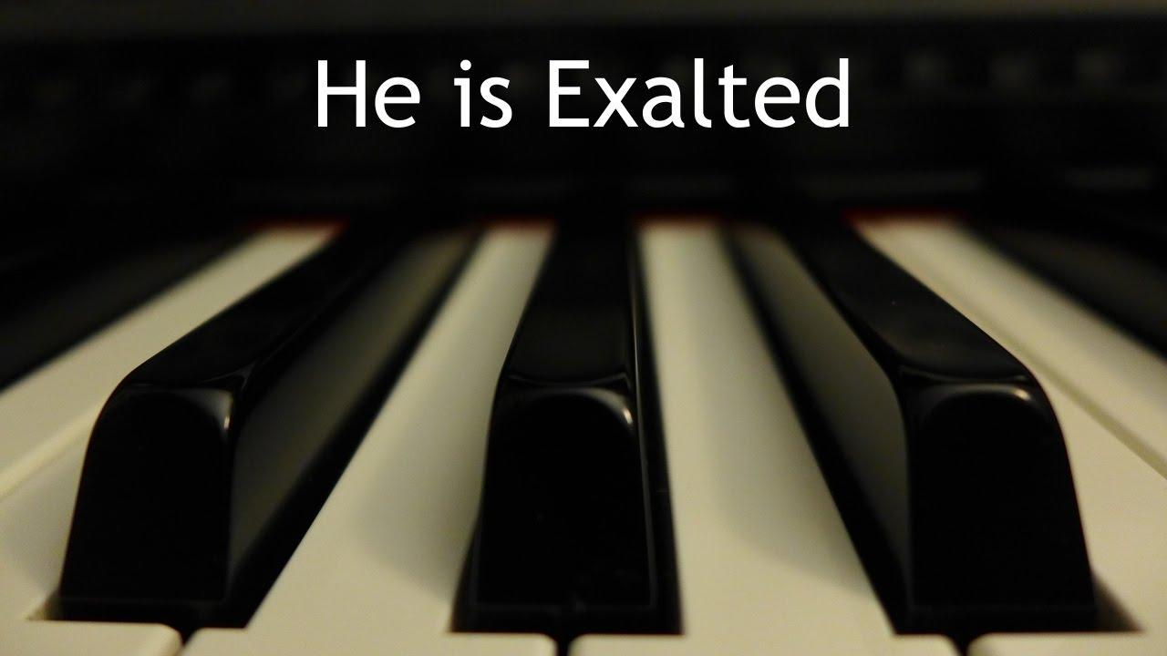 Es Exaltado | Instrumental piano - Kaleb Brasee