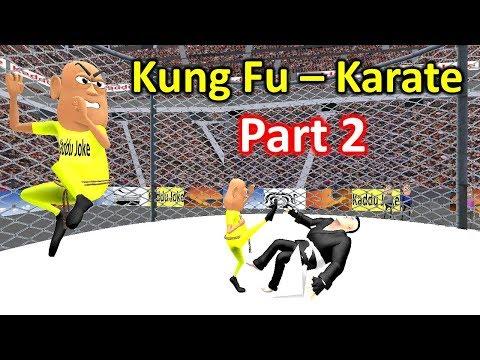 MY JOKE OF - KUNG FU KARATE 2 ( कुंग फु कराटे २ NEW FUNNY COMEDY VIDEO ) - KADDU JOKE | KJO