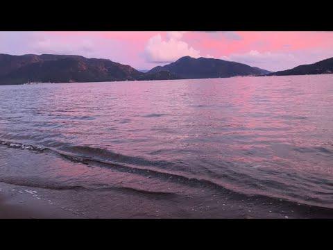 Звуки природы. Шум моря. Закат.