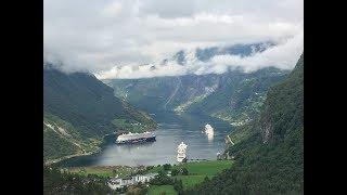Гейрангер-фьорд. Geiranger fjord. Туры по Норвегии. Only Norway!