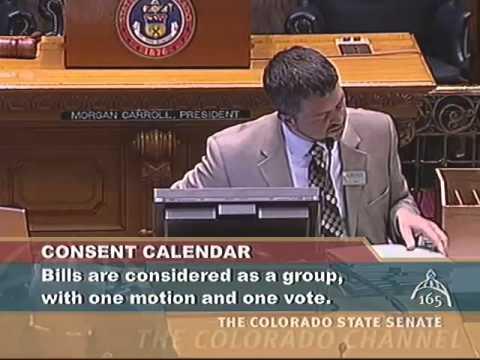 Colorado Senate 2014 Legislative Day 114, Part 1