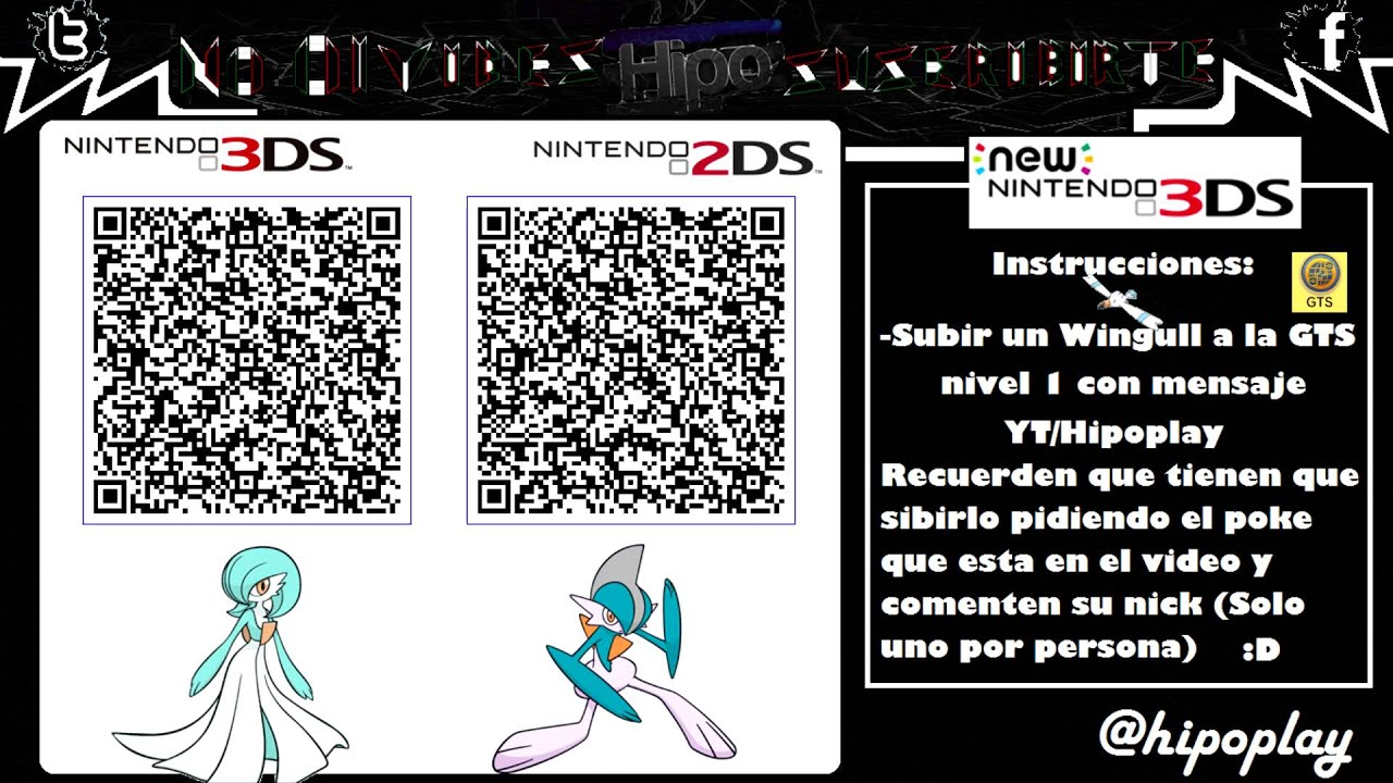 Terminado Code Qr Gallade Amp Gardevoir Chiny Competitivo Pokemon Xy Oras Youtube