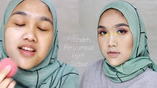 ORIFLAME THE ONE EVERLASTING FOUNDATION EXTREME Review di Kulit Kombinasi❀