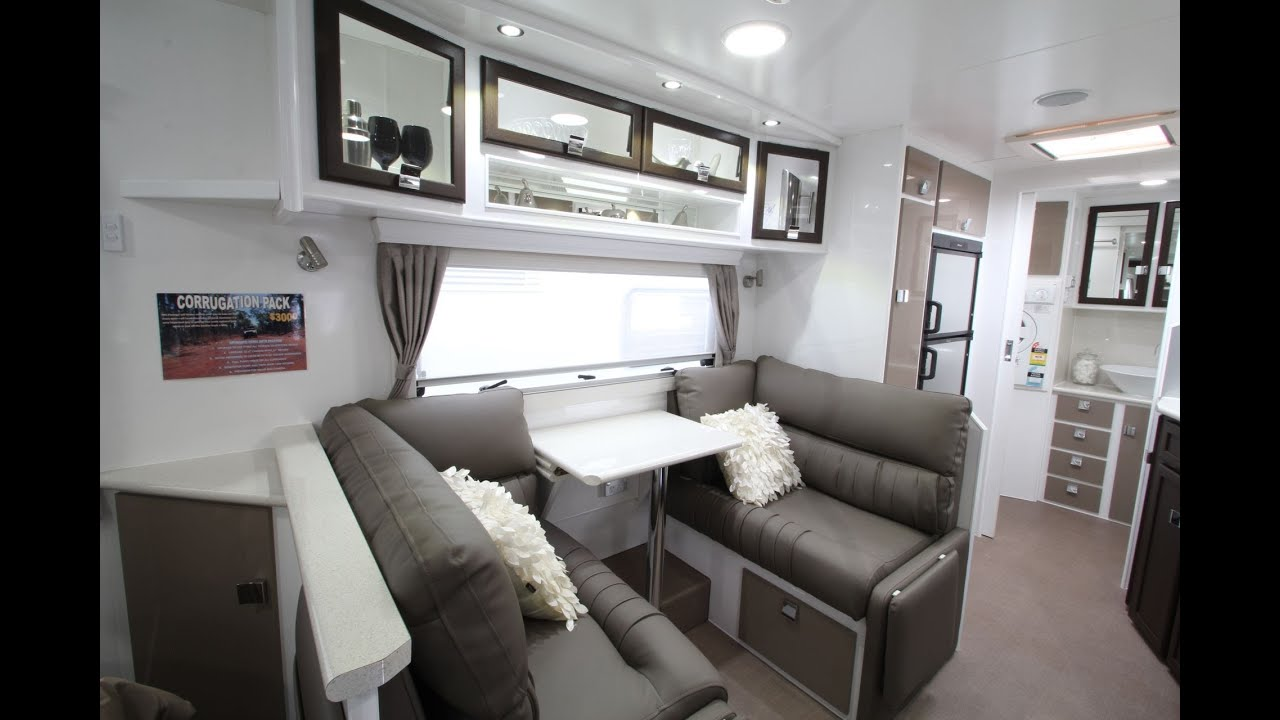 Paramount Vogue shower & toilet caravan - YouTube