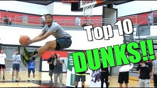 Jonathan Clark Top 10 DUNKS by Dunkademics! Video